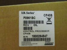 Foxboro P0961bc Cp40b Control Processor Ia Series Cpu Processor Rev 0l New