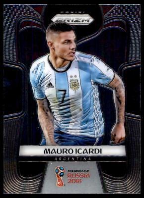 PRIZM WORLD CUP 2018 Laser Parallèle Base Carte #8 Mauro ICARDI-Argentine