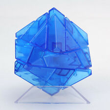 Ninja Ghost 3x3x3 Magic Cube Skewb Twist Puzzle Fancy Toys gift Transparent Blue
