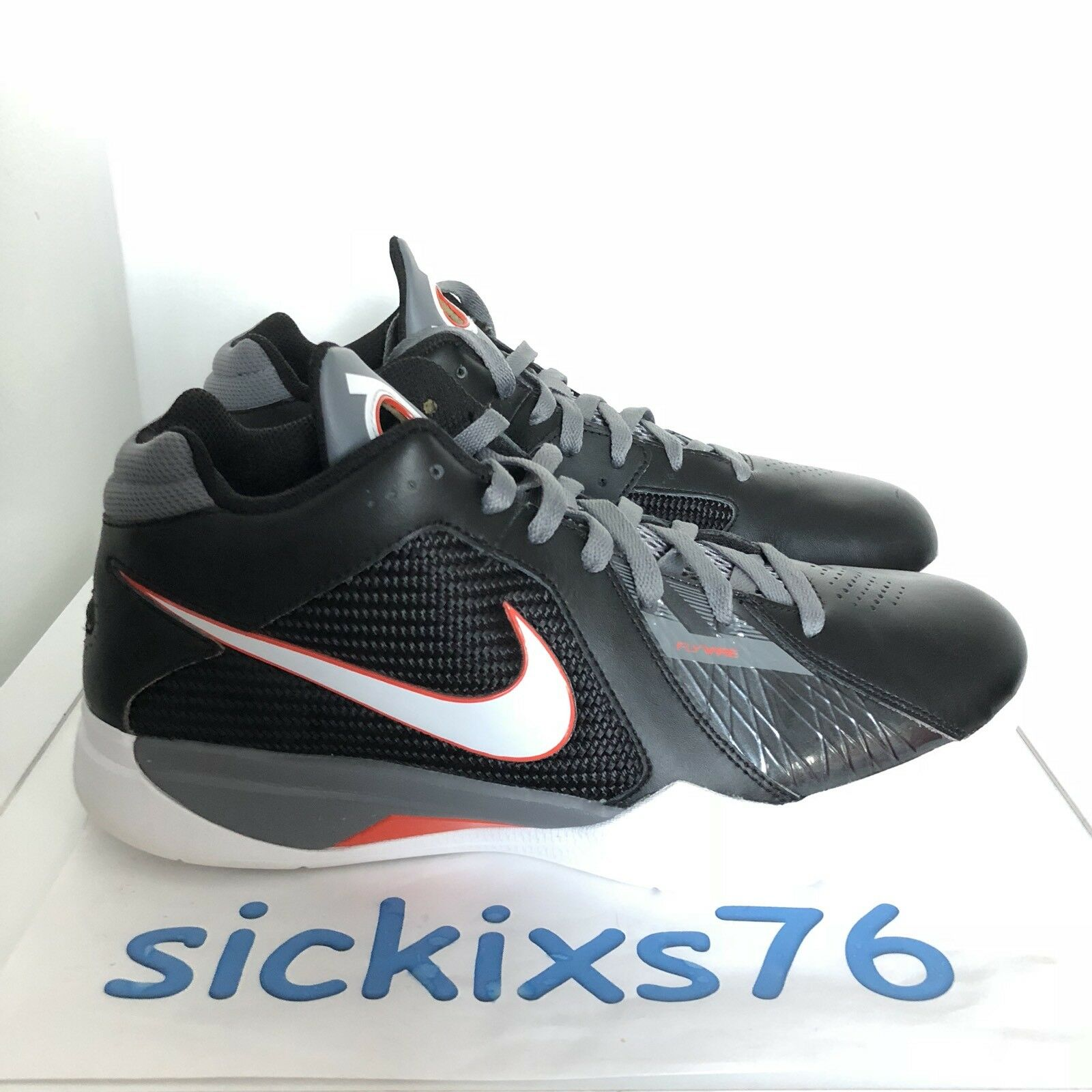 DS Men's NIKE ZOOM KD III 'Carbon Fiber' Sz 11 [417279 107]