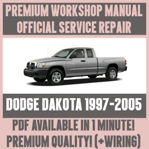 workshop manual service repair guide for dodge dakota 1997 2005