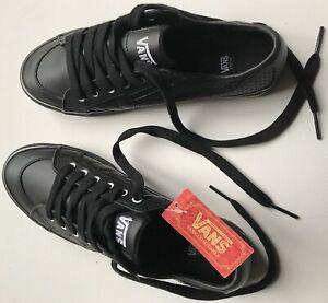 VANS-Sneakers-Girls-pelle-leather-nero-black-38-5