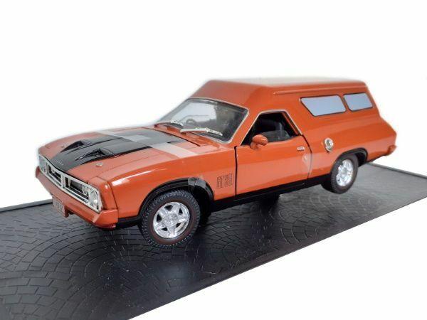 1:32 Scale Ford Falcon  XB GT351 Panel Van Replica Burnt Orange Ozlegend Diecast
