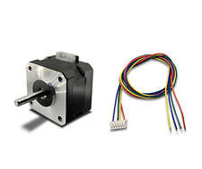 Nema 17 Stepper Motor 08a 12v 25ncm 42x42x28 Laser 3d Printer Slim High Torque