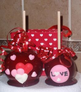 Valentines Day Candy Red Apple Apples Party Favor Favors Ebay