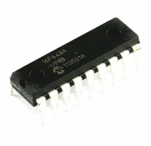 2PCS IC PIC16F648A-I//P PIC16F648 MICROCHIP DIP-18 NEW