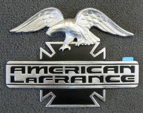 Cast Aluminum Adhesive NEW Eagle Americn LaFrance Emblem Nameplate