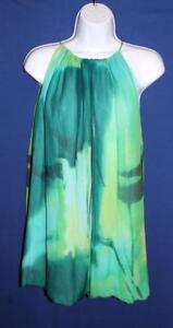 Ladies-BCBG-MaxAzria-100-Silk-Sleeveless-Blouse-or-Top-Size-XS-Amazonmult-NEW