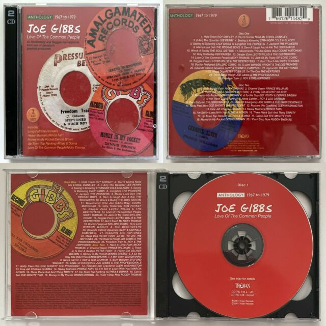 JOE GIBBS Love of the Common People-Anthology 1967-1979 - 2-Disc CD Trojan 2001