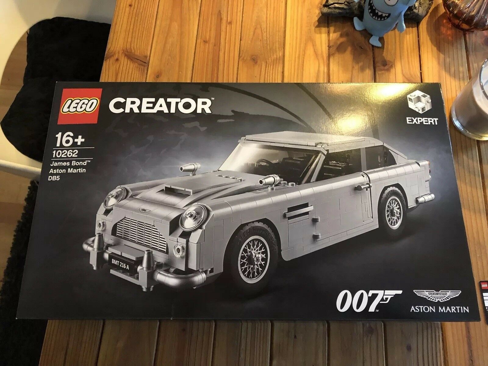LEGO® Creator 10262 James Bond™ Aston Martin DB5 NEU & OVP Limited Edition