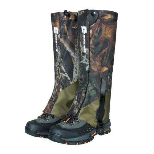 Guêtre Imperméable à l'eau Couvre-bottes Cache Chaussures Randonnée Camping