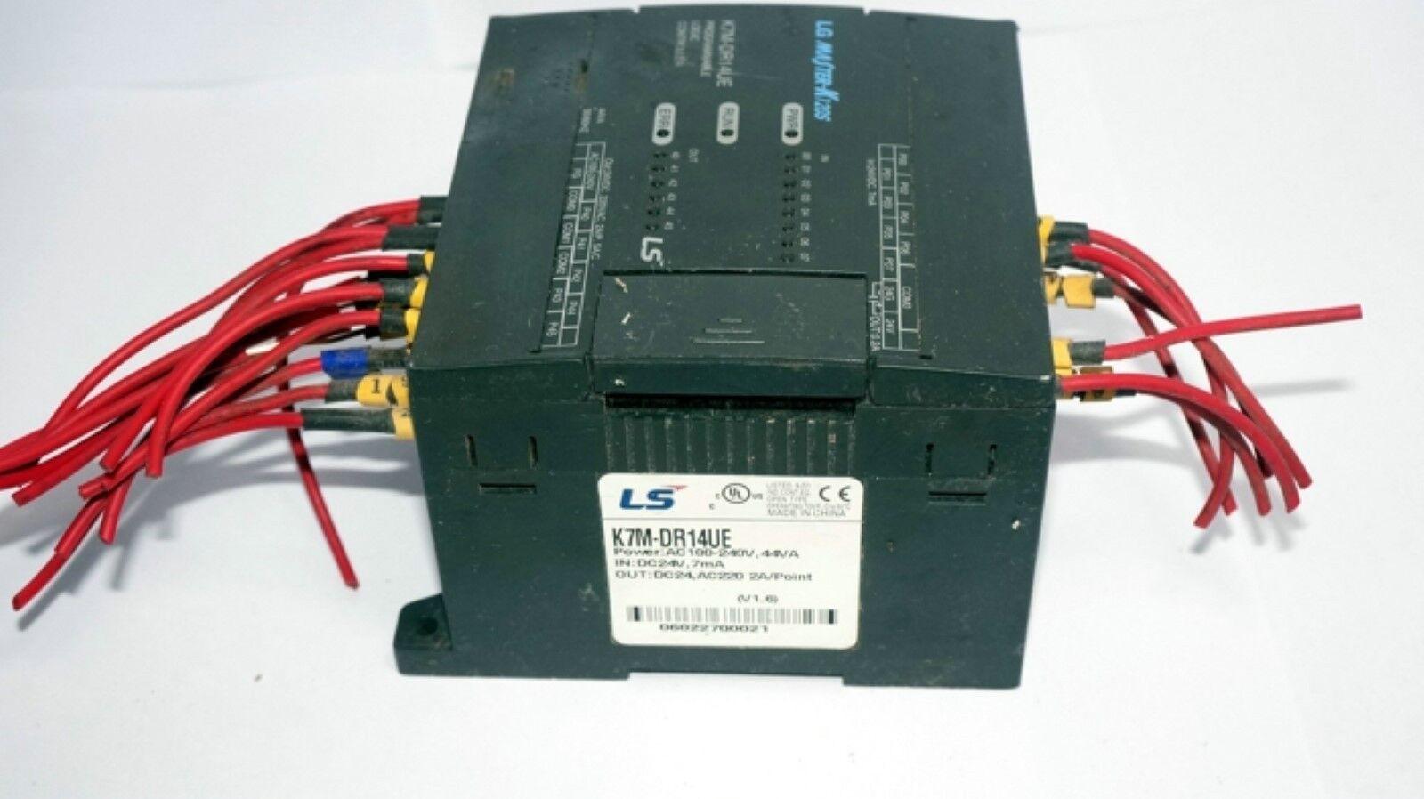 LG LS PLC programmable controller MASTER-K120S K7M-DR14UE