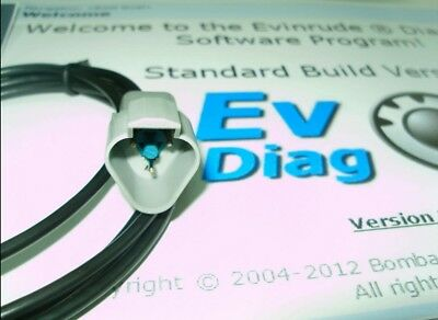 Professional Evinrude Diagnostic Kit E-tec//Ficht EMM diagnose,restoring,update