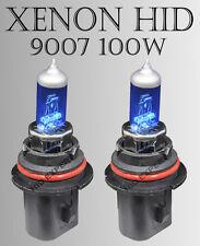 TMZ 9007 /HB5 100W pair High/ Low Xenon HID White 12V Gas Light Bulbs Gj3 A V22