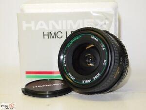 Hanimex-Weitwinkel-2-8-28mm-High-Multi-Coated-fuer-Olympus-OM-Wide-Angel-lens