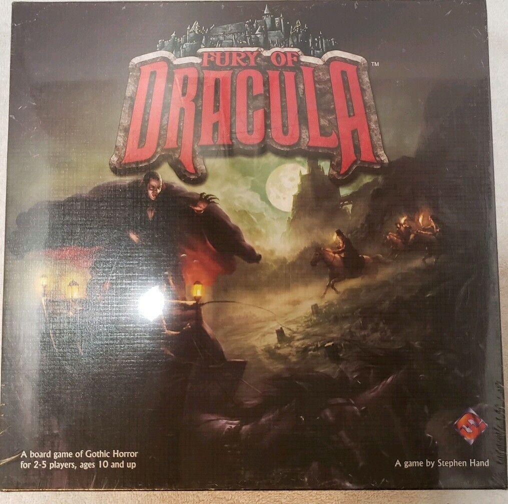Fury of Dracula 4th Ed NEW IN SHRINK