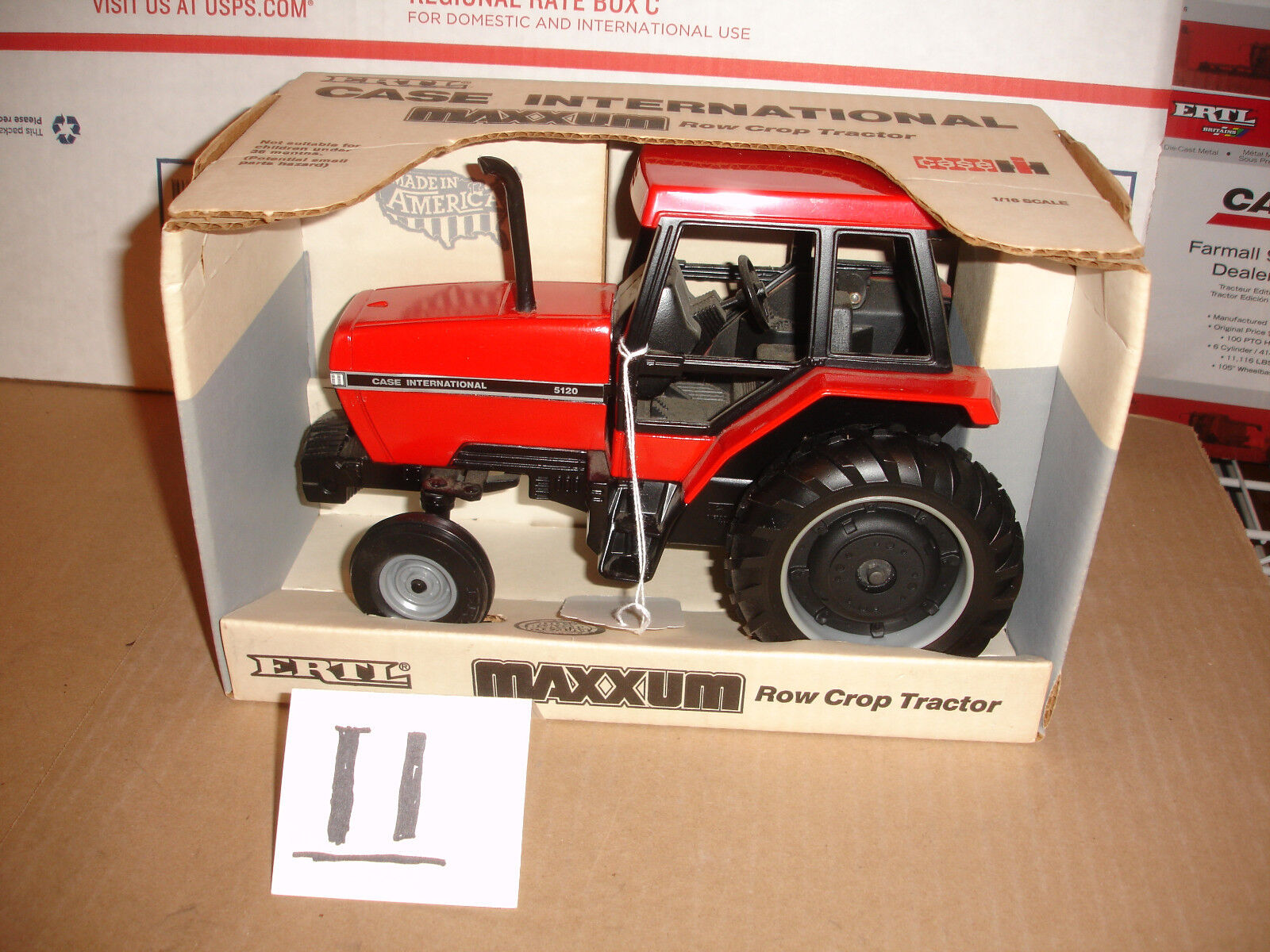 1 16 case  international 5120 toy  tractor