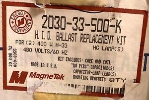 Magnetek 2030-33-500K H.I.D. Ballast Replacement Kit