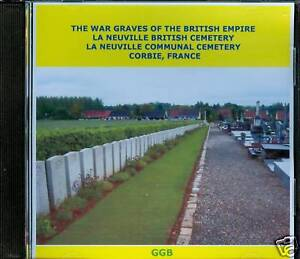 WAR-GRAVES-OF-LA-NEUVILLE-BRITISH-amp-COMMUNAL-CD