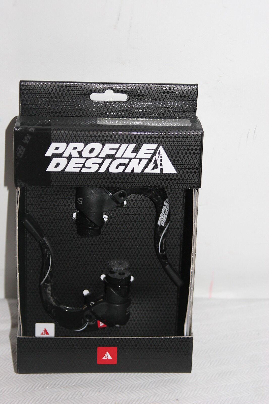 Diseño de perfil ABS semi-Cochebon Aero Bicicleta Palanca  De Freno Conjunto Negro Para Triatlón TT  n ° 1 en línea