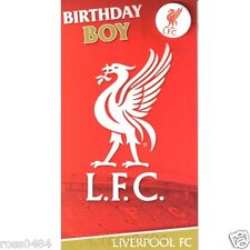 Item 5 Liverpool FC Birthday Card Selection Some With Badge Music Gift