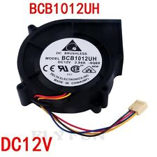 BCB1012UH Vacuum Fan Brushless Turbo Fan Heatsink DC12V 3.84A 97*87*25mm Black