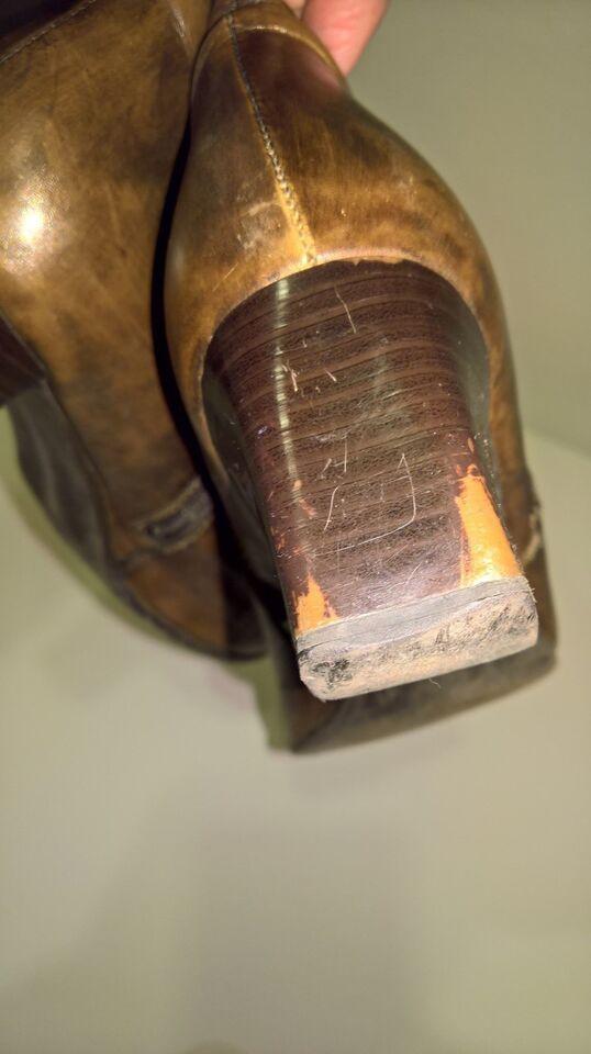 Støvler, str. 41, brune