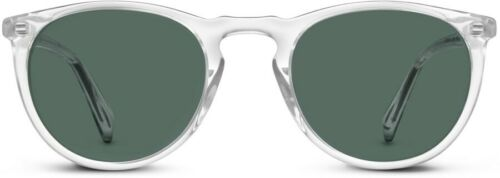 Warby Parker Haskell Sunglasses - Crystal Frame -