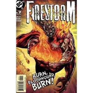 Firestorm (2004 series) #7 in Near Mint condition. DC comics [*oc]