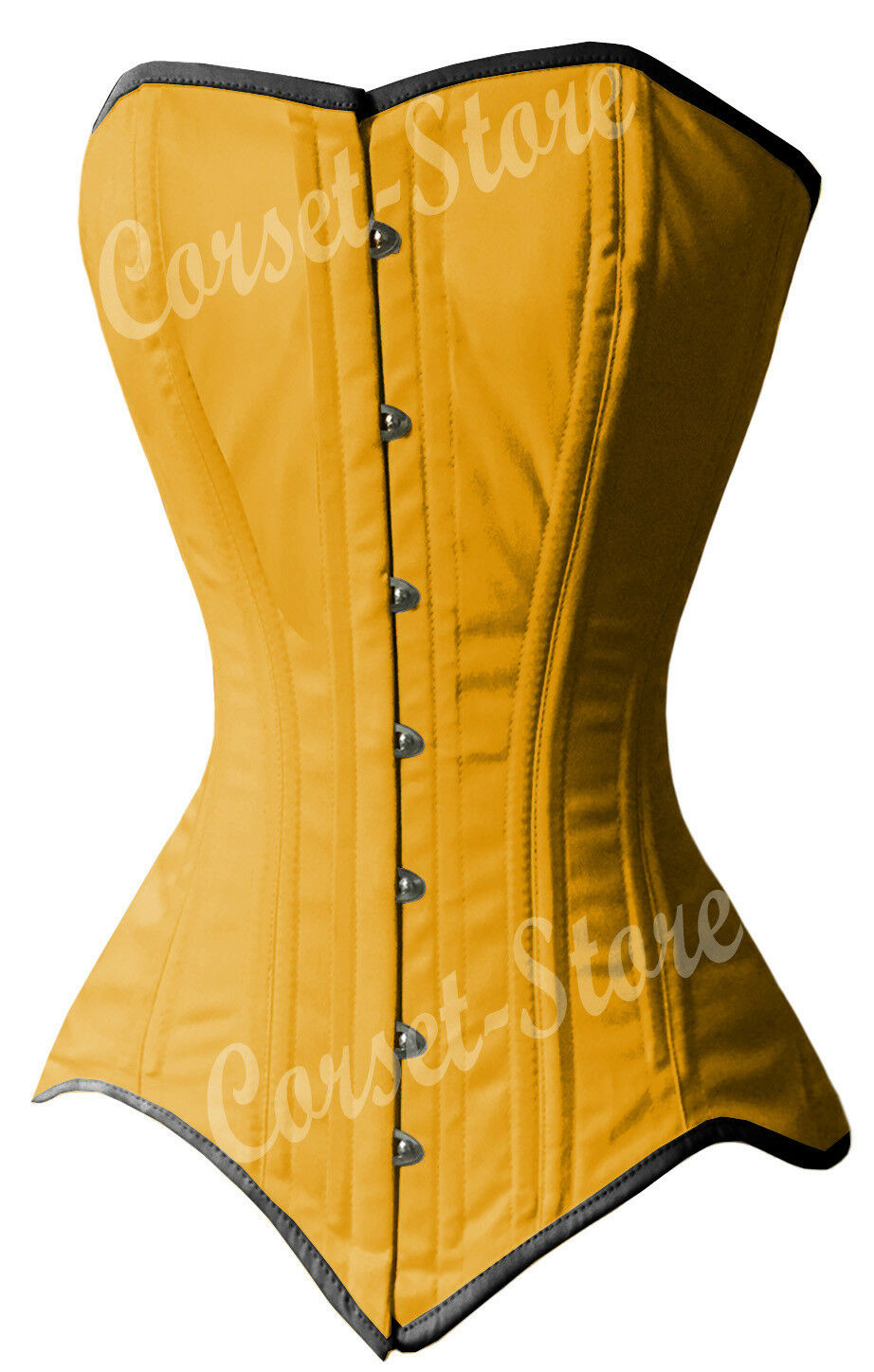 f38540b6f18 ... Double Double Double Steel Boned Waist Training Long Line Cotton Over  bust Corset 8137-LC