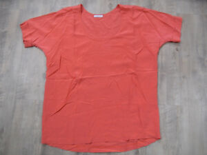 Top Gr blush en Bellissima Iheart orange soie Kos418 camicia M qwAO7T4