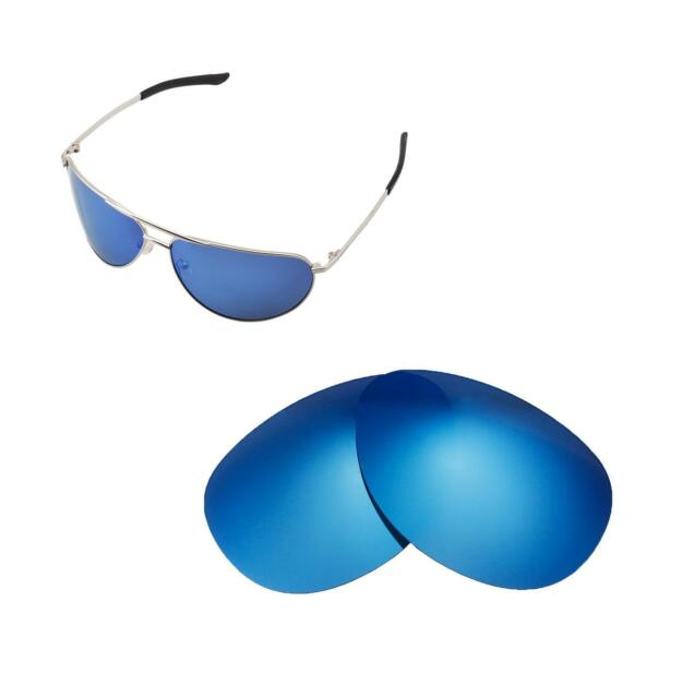 99c318c2c3 Walleva Ice Blue Isarc Polarized Replacement Lenses for Smith Serpico  Sunglasses