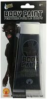 Black Body Paint Makeup Sports Events Team Spirit Halloween Costume