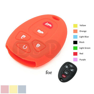 Silicone Cover fit for BUICK GMC CHEVROLET CADILLAC PONTIAC JEEP Remote Key 5BOR