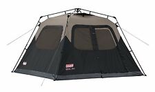 New Coleman 6 Person Instant Cabin Tent Family Camping Outdoor Instant Tent
