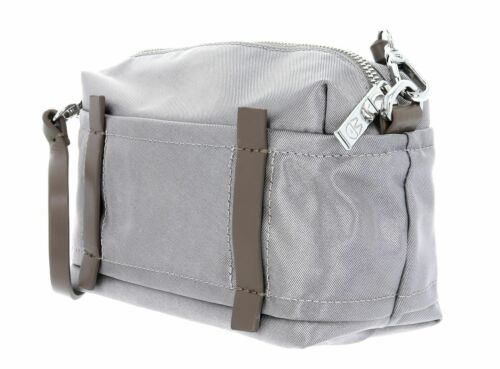 Mandarina Duck Daphne shoulder Bag bandolera bolso Gun Metal verde marrón