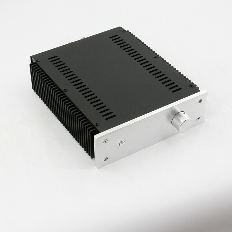 DIY Full Aluminum Enclosure Case preamp// amp Chassis box 430*90*360mm   L14-30