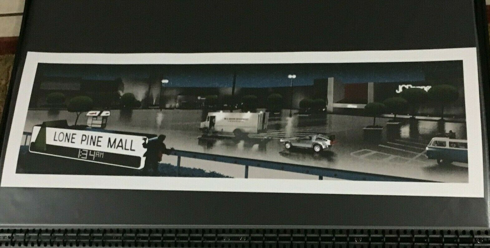 Mark Englert Back To The Future Lone Pine Mall Variant Print Mondo on eBay thumbnail