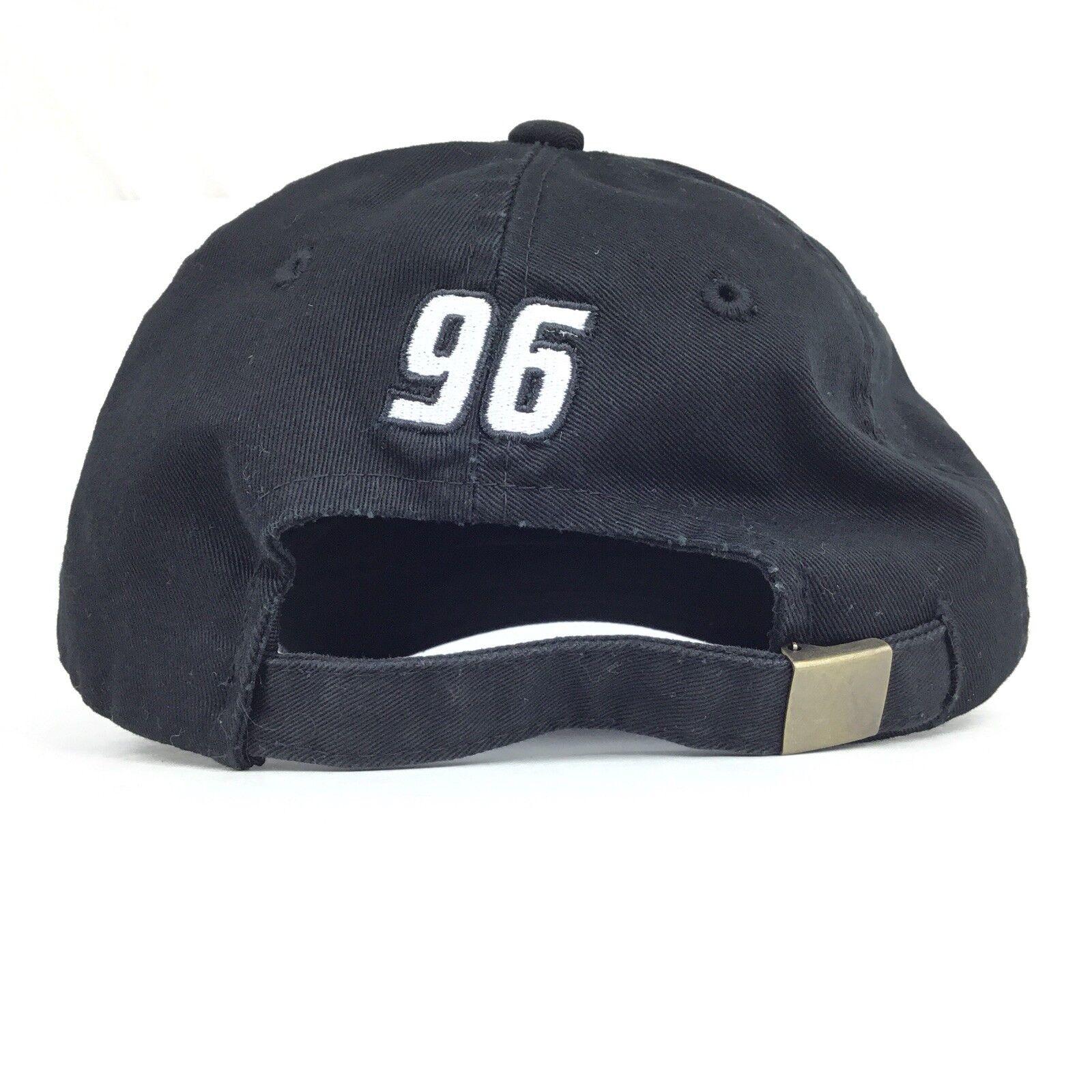 Texas 96 Instruments TI DLP HDTV 96 Texas Embroidered Black Baseball Cap Hat Adj Adult a527ee
