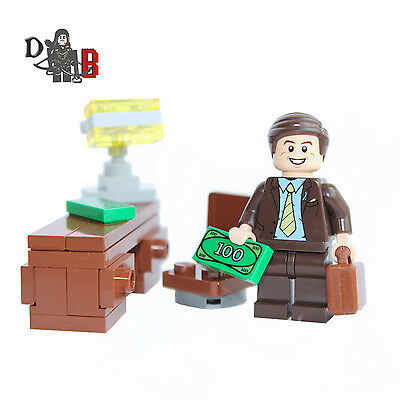 Custom Breaking Bad Saul Goodman Minifigure - Made using LEGO and custom parts.