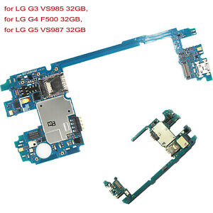Details about Main Motherboard Replacement for LG G3 VS985/G4 F500/G5 VS987  32GB Unlocked Part