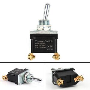 Impermeable-Balancin-Interruptor-ON-OFF-SPST-2Pin-grado-coche-camion-toowei