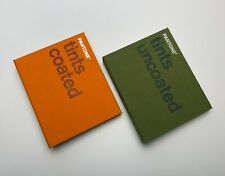 Pantone Pms Coated And Uncoated Tints Chips 2 Book Set