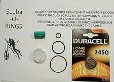 Premium battery  kit HP port ,Transmitter, Suunto vyper air HelO2 Vytec computer