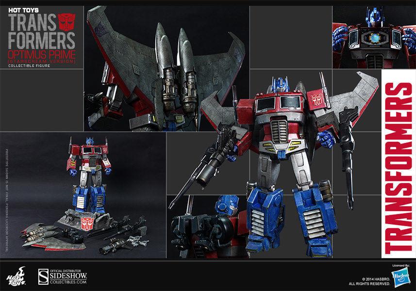 Hot Toys 1 6 TRANSFORMERS G1 Optimus Prime Starscream - Sideshow Exclusive TF001