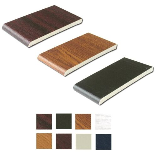 Lengths Plastic Skirting Board Various Colours Trim 25mm uPVC Architrave