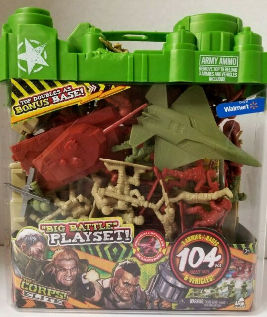 Brand New The Corps! The Corps Elite Army Playset