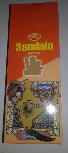pack de 6 ,Incienso sandalo/sandal sac  , 120 unidades