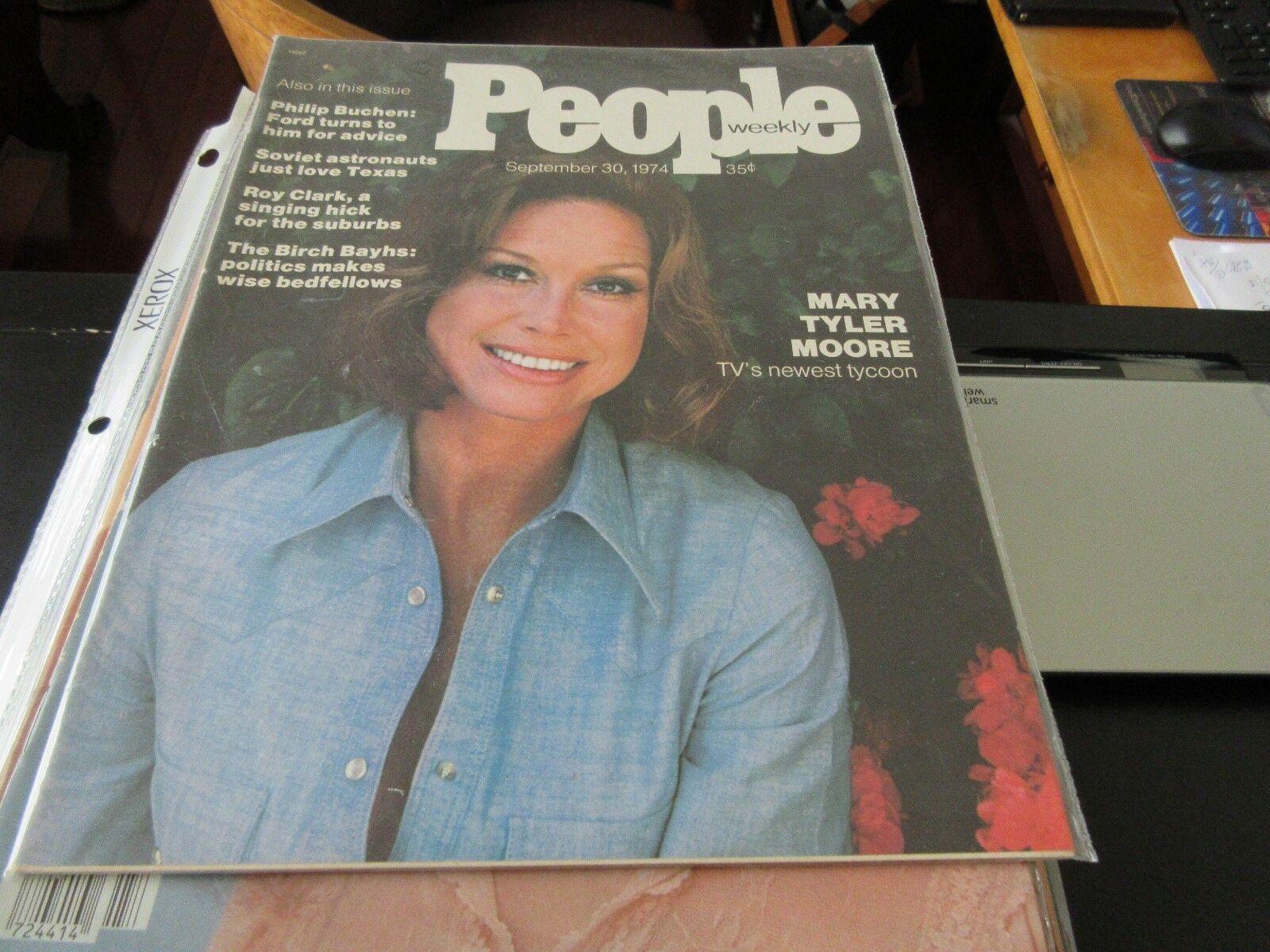 Mary Tyler Moore , People Weekly , September 30 ,1974 ,