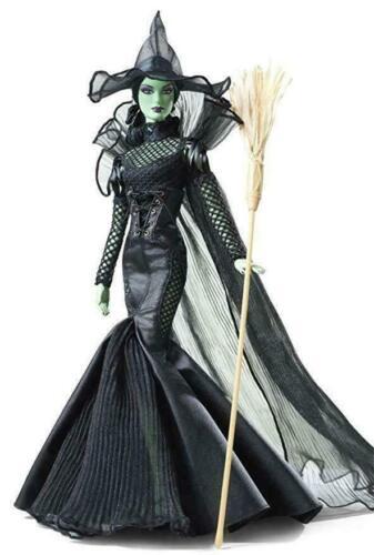 Barbie Wizard of Oz FANTASY GLAMOUR WICKED WITCH  Gold Label NRFB 4000 Worldwide